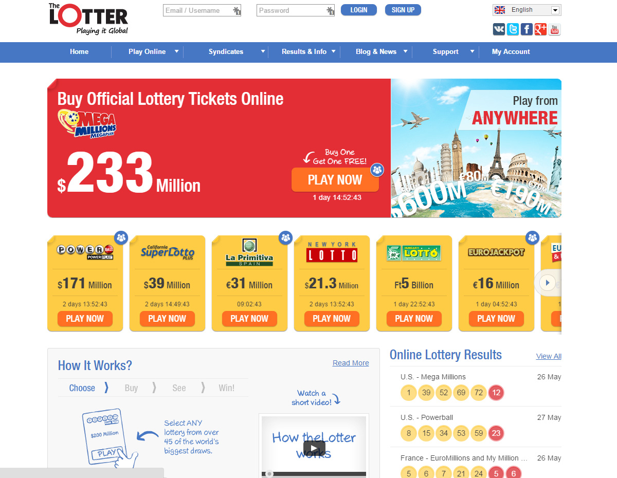 Thelotter best choose for buying lottery tickets for Best websites to buy online
