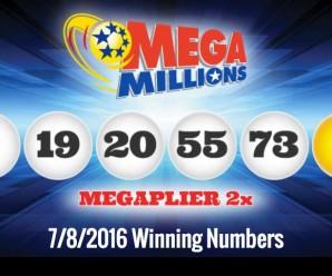 Mega Millions jackpot won again on the 8th!