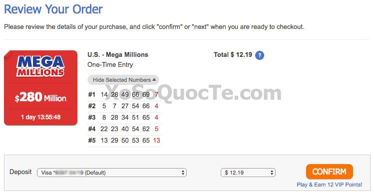 how to change lottery numbers online