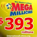 Mega Millions jackpot increased to $393 million