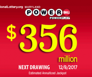 Powerball Jackpot jumps to $356 million
