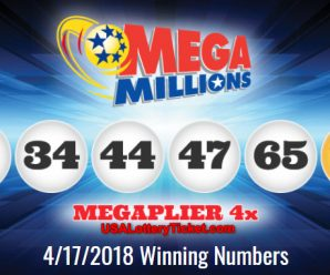 Mega Millions Lottery Draw Results Of 04/17/2018: No Winner for the Grand Jackpot