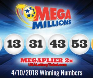 Mega Millions Lottery Draw Results OF 04/10/2018: One Lucky Player Become Millionaire