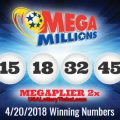 Mega Millions Lottery Draw Results Of 04/20/2018: One Lucky Player Become Millionaire