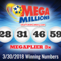 Mega Millions Lottery Draw Results OF 30/03/2018: The Grand Jackpot of $521 Millions Was Won By A Lucky Player In New Jersey
