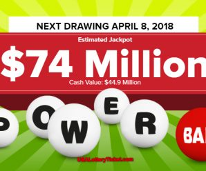 Powerball  Lottery  Draw Results Of  04/04/2018: There are 2 Lucky Winners Becoming Millionaires