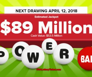 Powerball Lottery Draw Results Of 04/07/2018: No lucky player becomes Millionaire