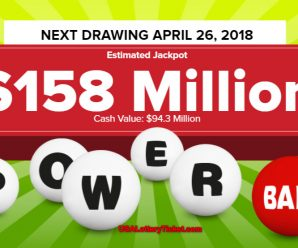 Powerball Lottery Draw Results Of 04/21/2018: No lucky player becomes Millionaire
