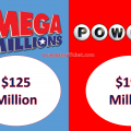 US Mega Millions an d Powerball Jackpot rise significantly when reaching $126 million and $195 million respectively
