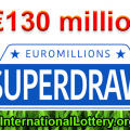 Next EuroMillions €130M Superdraws: Friday 21st September 2018