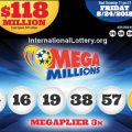 Mega Millions Jackpot Jumps to $118 Million Dollars