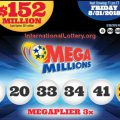 Mega Millions Jackpot: No Winner Tuesday, Total Rises To $152 Million
