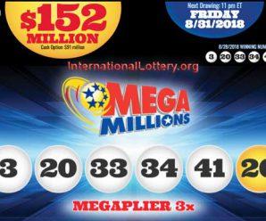 Mega Millions Jackpot: No Winner Tuesday, Total Rises To $152 Million