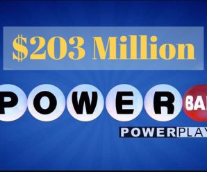 Powerball rolls over to $203 million for Aug 5, 2018