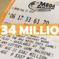 Mega Millions jackpot rises to $134 million; next drawing is Tuesday