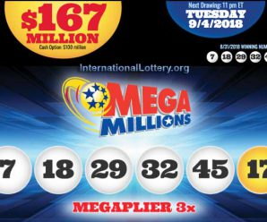 Mega Millions hits $167 million. Beware going in on tickets with co-workers