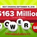 No Winner Saturday, Powerball Jackpot Rise To $163 Million
