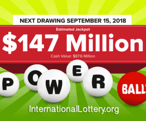 Powerball Jackpot rise to $147 million for Saturday's Drawing