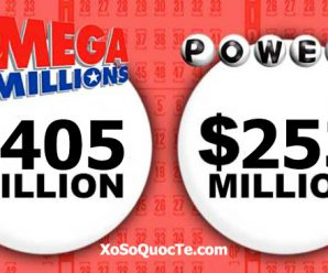 Mega Millions jumps to $405 million; Powerball jackpot rise to $253 million
