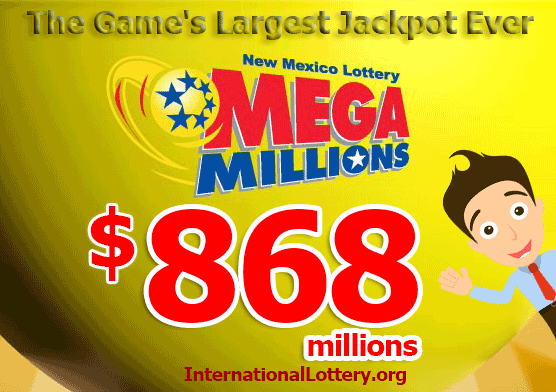 mega millions jackpot 868