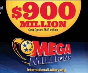 Mega Millions jackpot is now up to $900 million for Friday's drawing