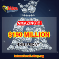 Mega Millions Jackpot's Owner Does Not Appear, The Next Prize Soars To $190 Million