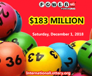 Following The Mega Millions, PowerBall Rises Up To $183 Million For The First Prize