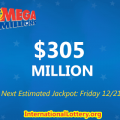 LA claims $1M Mega Millions Prize, Jackpot $305 Million Next Drawing