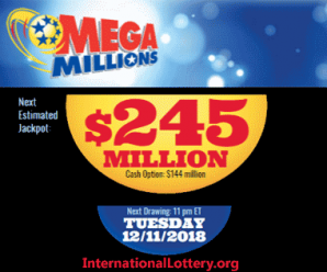 Mega Millions Increases To $245 Million. Is It Worth To Start With A Ticket?