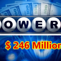 One Lucky Man Gets $1 Million, Power Ball Stands At $246 Million