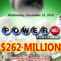 Lottery Fever – Power Ball Jackpot Up To $262 Million this Wednesday