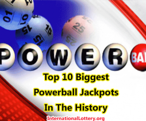 Top 10 Biggest Powerball Jackpots in U.S. history