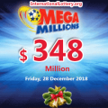 Mega Millions results: the wonder of Christmas, Next jackpot stands at $348 million