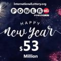 Three $1 million winning ticket holders, Powerball jackpot grows up to $53 million