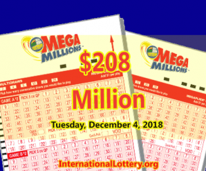 2 Millionaires and Mega Millions Jackpot Rises To $208 Million
