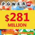 Two $1M Powerball tickets sold in MI and WA, Jackpot jumps up to $281M
