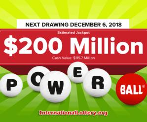 No Jackpot Winner, Powerball jackpot hits $200 million