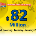 Mega Millions results for 01/18/19; $82 million for the next jackpot