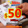 Mega Millions results for 01/08/19: Who will be the next $50 million jackpot owner?