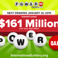 Powerball results for 01/23/19: Powebal jackpot stands at $161 million