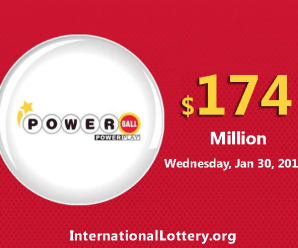 Powerball results for 19/01/26; Jackpot swells to $174 million