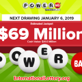 More than $2 million for the ticket from California, Powerball climbs to $69 million