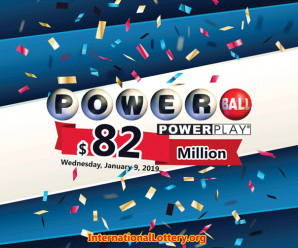 Three million has been Owned, Powerball jumps up to $82 million