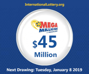 Mega Millions results for 01/04/2019: 1 lucky man recieved $1 million USD