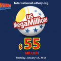 Mega Millions Results: 2 players get $1M | Next jackpot: $55 Million