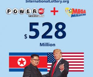 Total value of Powerball and Mega Millions jackot surpassed half of billion dollar before Trump – Kim summit in Hanoi, Vietnam