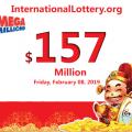 Mega Millions rises to $157 million for Friday, February 08, 2019