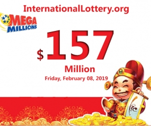 Mega Millions rises to $157 million for Friday, February 08, 2019
