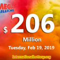 Mega Millions balls continue to roll; Jackpot rises to $206 million