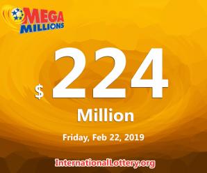 Rolling balls push the Mega Millions jackpot to $224 million